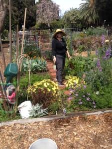 Annet Sasser, No Ho Community Gardener
