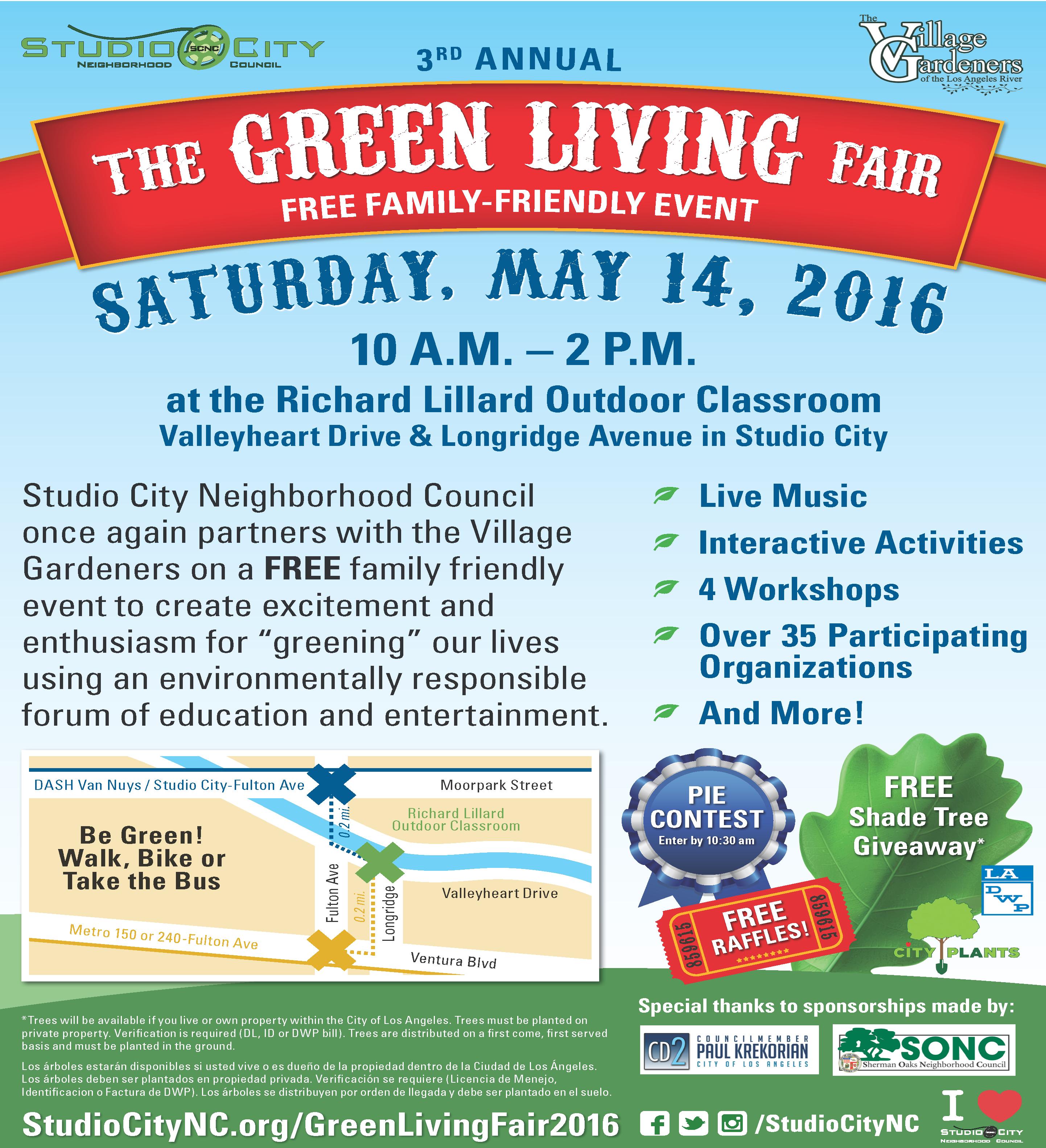Studio City Green Living Fair - Los Angeles Community Garden Council